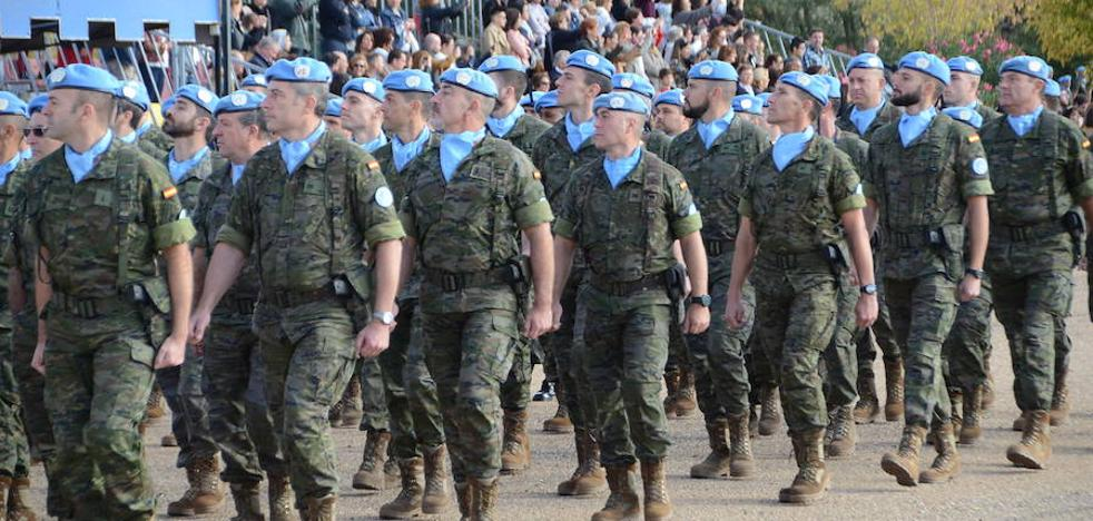 Por primera vez coincidirán dos misiones militares extremeñas en el extranjero