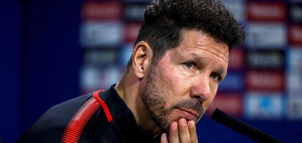 Simeone: «No tenemos un futbolista que nos gane él solo un partido»