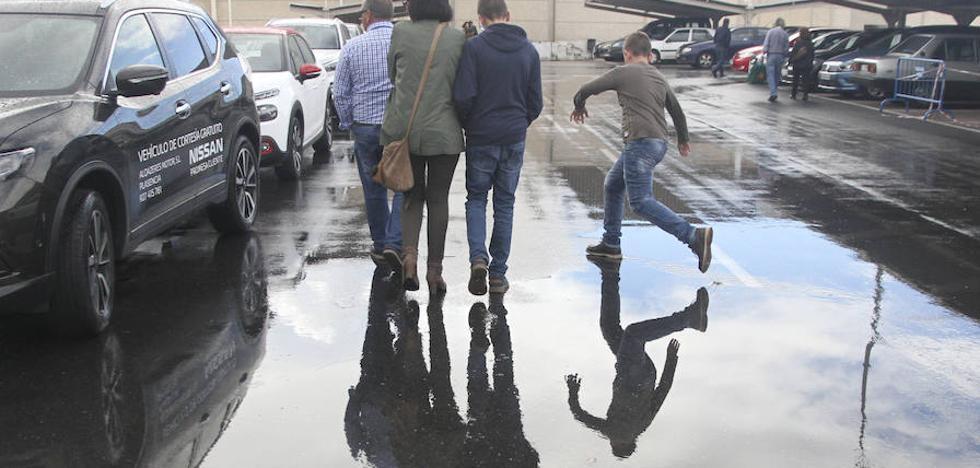 Garganta La Olla, el pueblo extremeño en el que más ha llovido el sábado