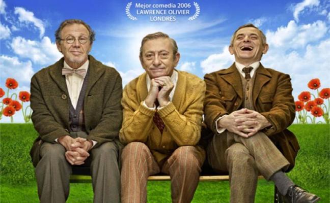 Comedia con Iñaki Miramón, Luis Varela y Juan Gea en el Gran Teatro