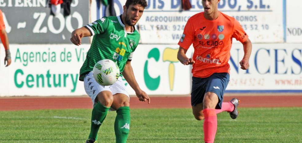 El Villanovense busca en El Ejido enlazar dos victorias consecutivas