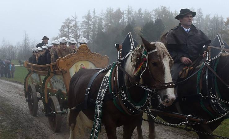 La tradicional peregrinación Leonhardi