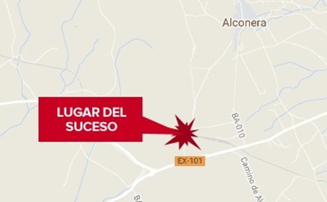 Un hombre de 36 años resulta herido de gravedad en un accidente laboral ocurrido en Alconera