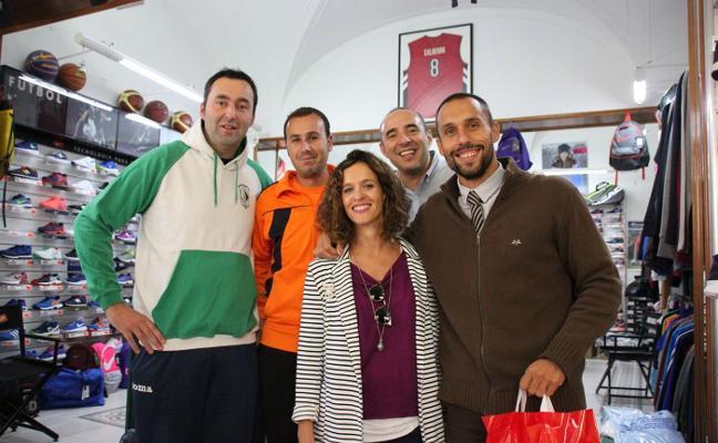 La Fundación Calderón ayuda a jóvenes deportistas