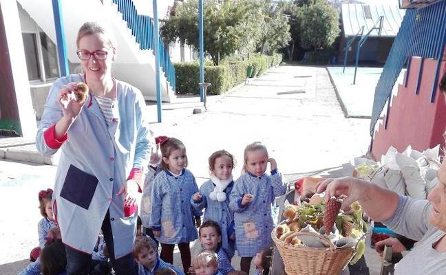 Fiesta del otoño en el colegio de las Josefinas