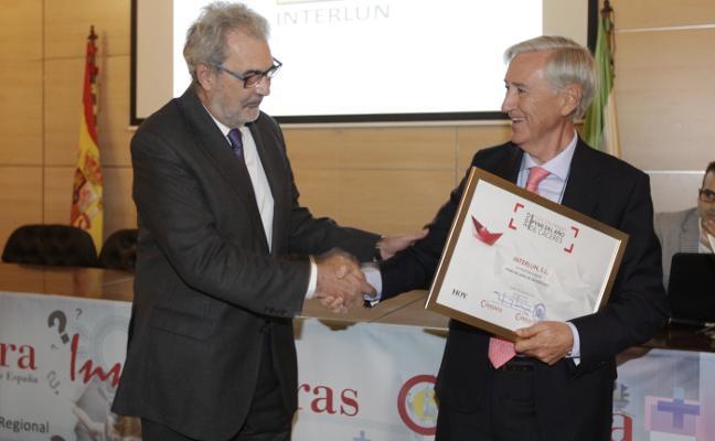Interlun es reconocida como pyme del año en Cáceres