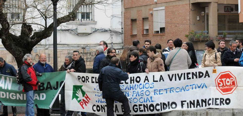 Las ejecuciones hipotecarias caen en Extremadura a niveles de antes de la crisis