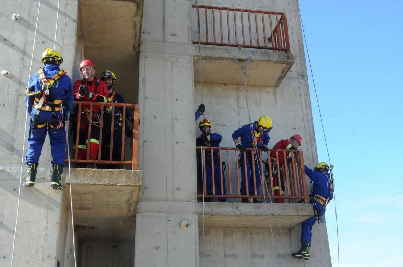 Mérida acoge una nueva edición del curso sobre cualificación del bombero de nuevo ingreso