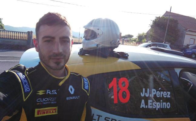Alberto Espinar, un almendralejense en el campeonato francés de rallyes