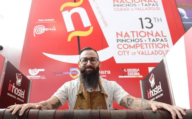 El chef extremeño Alberto Montes, subcampeón mundial de tapas