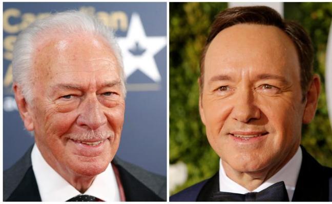 Christopher Plummer sustituirá a Kevin Spacey en el último filme de Ridley Scott