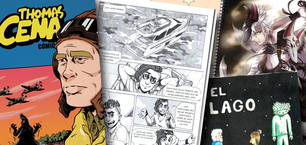 El granadino Chechu Ramírez gana los premios de cómic de la Diputación