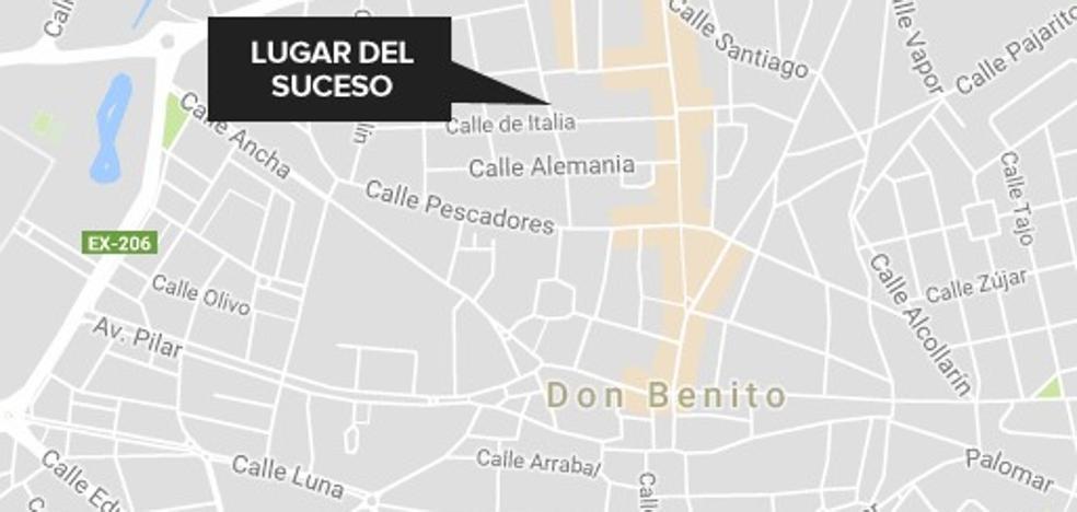 Herido leve un hombre de 52 años tras una colisión en Don Benito