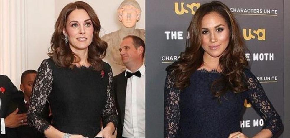 La conexión fashion de Kate Middleton y Meghan Markle