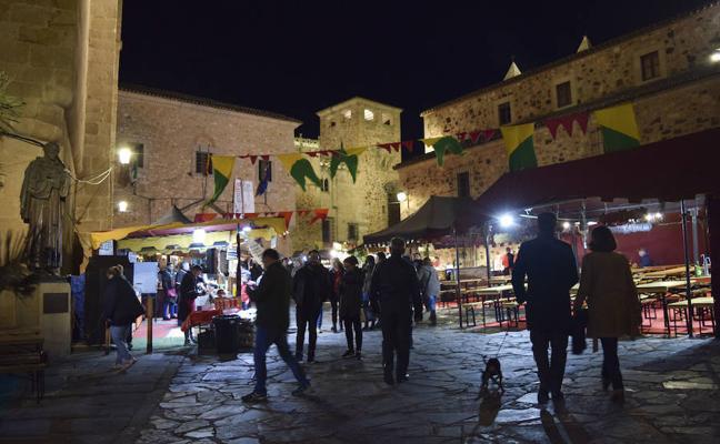 Empieza en Cáceres el Mercado Medieval