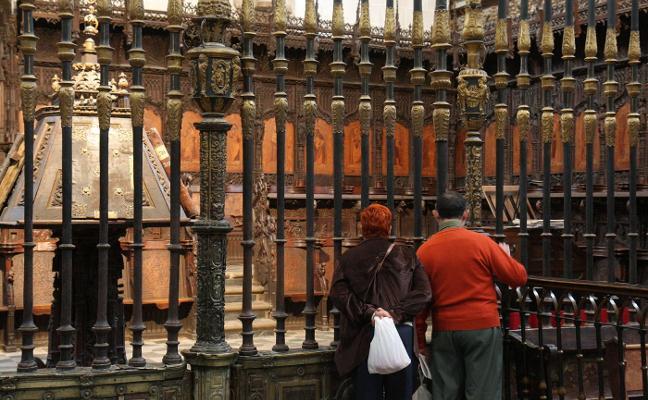 El coro de la catedral de Plasencia se abrirá a las visitas a partir del próximo puente