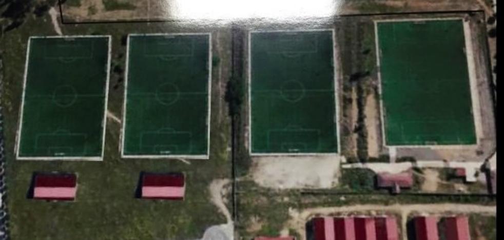 Urbanismo inicia el expediente para construir los nuevos campos de fútbol de Pinilla