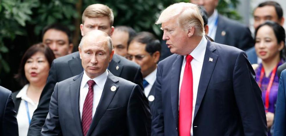 Trump y Putin coinciden en que «no hay solución militar» en Siria