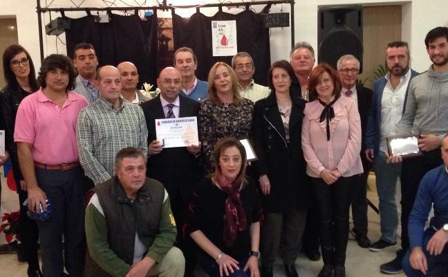 Gala anual de la Hermandad de donantes de Villanueva