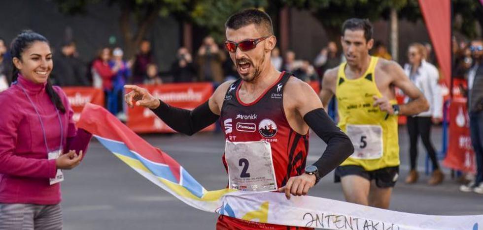 Bruno Paixao y Mamen Ledesma vencen en la Media Maratón Elvas-Badajoz
