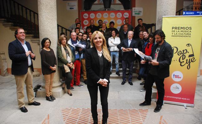 Trujillo se da un 'baño' de cultura con los XII Premios Pop Eye