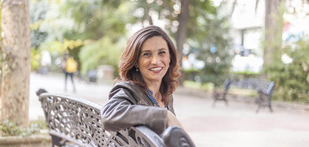 Olga Estecha, su vida es todo teatro
