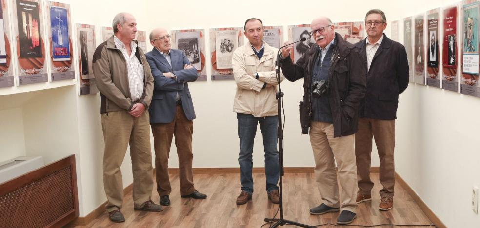 La Peña Amigos del Flamenco expone su fondo documental en el Palacio de la Isla