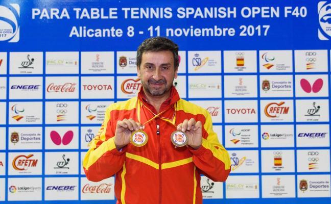 Dos medallas para Juan Bautista Pérez en Alicante