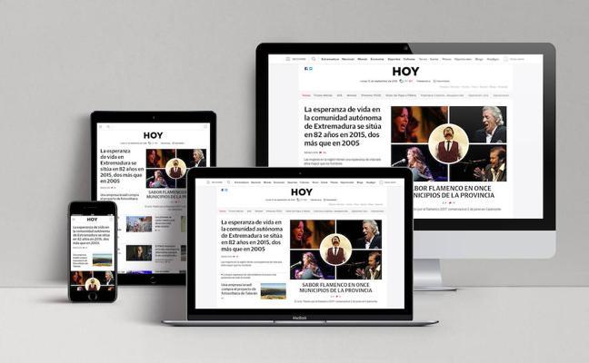 La web de HOY obtiene el premio al mejor rediseño del año