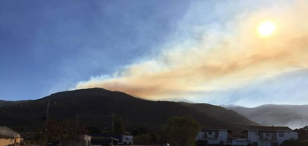 La Junta prohíbe las quemas de restos en el Jerte y Gata tras varios incendios