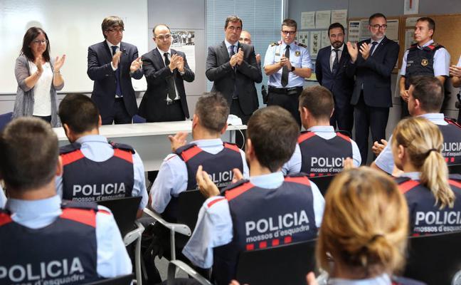 Los Mossos investigan a escoltas de Puigdemont por su fuga