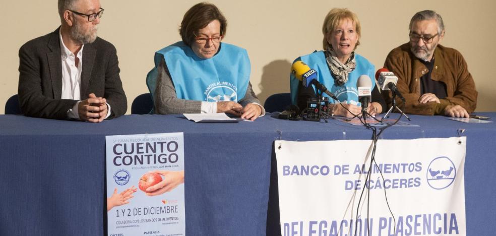 El Banco de Alimentos de Plasencia busca voluntarios para su gran campaña de recogida