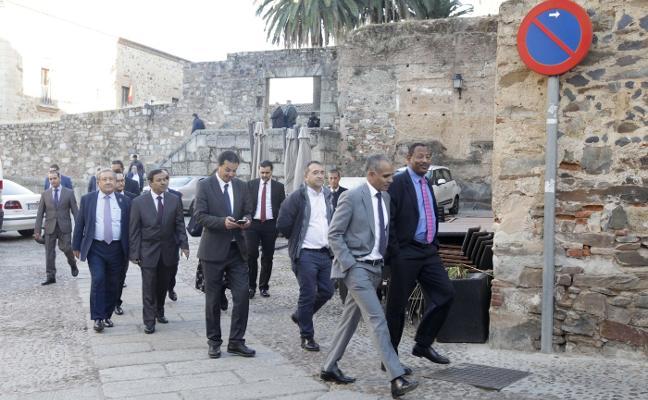 Embajadores árabes recorren Cáceres