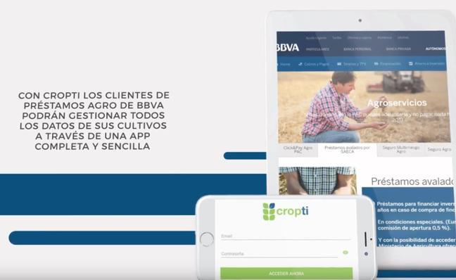 BBVA y Cropti promueven la digitalización agraria