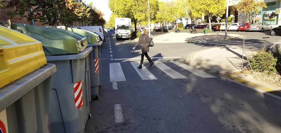 Dos atropellos en pasos de peatones de la calle Londres, en Cáceres, en 40 minutos