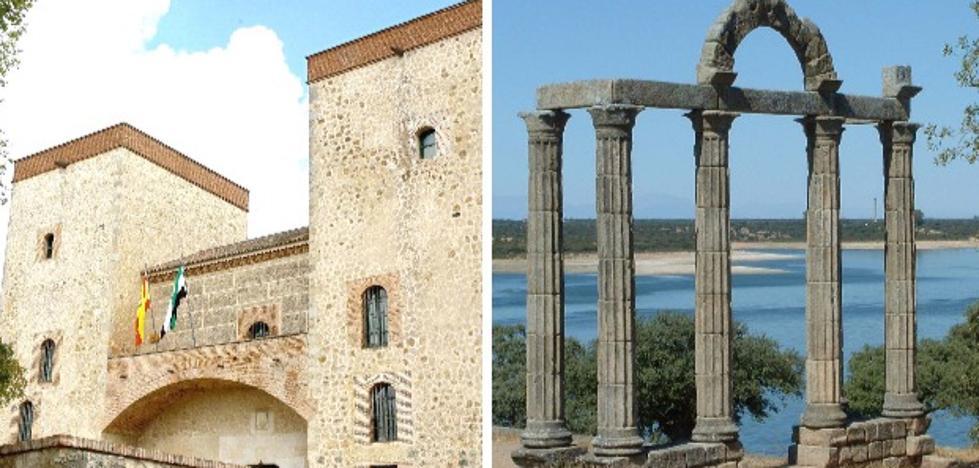 Una obra de la UEx analiza intervenciones en el patrimonio extremeño durante el franquismo
