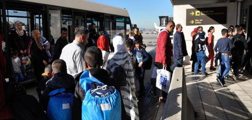 Badajoz acogerá a otros 6 refugiados sirios que han llegado a España desde Libano