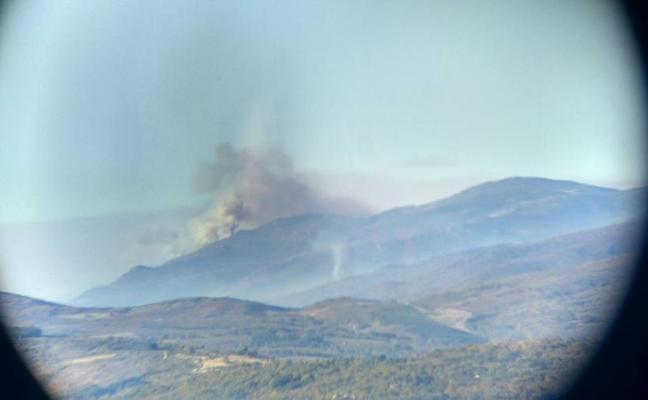 Controlado el incendio que se declaró el pasado lunes en el Valle del Jerte