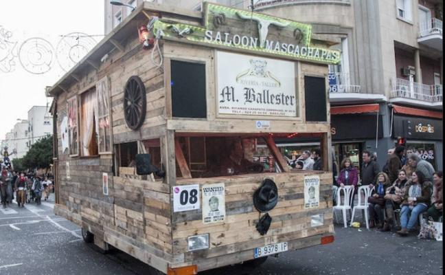 Los artefactos negocian tener su propio desfile en Badajoz el sábado de Carnaval