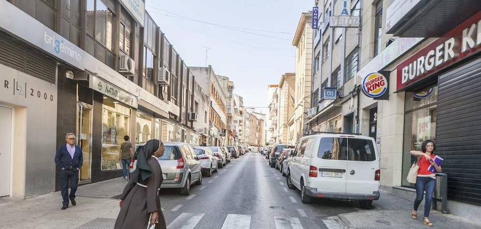 La peatonalización llega a Gómez Becerra
