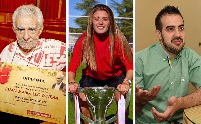 El diario HOY premia a un dramaturgo, una futbolista y una historia de superación