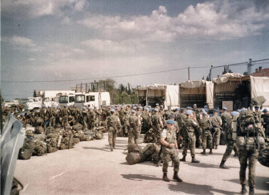 La huella extremeña en la misión que cambió al Ejército de Tierra