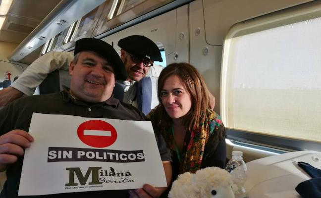Milana Bonita, dolida por el vacío de los políticos en la concentración