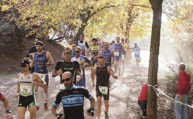185 atletas participan en el Duatlón Cros de Cáceres