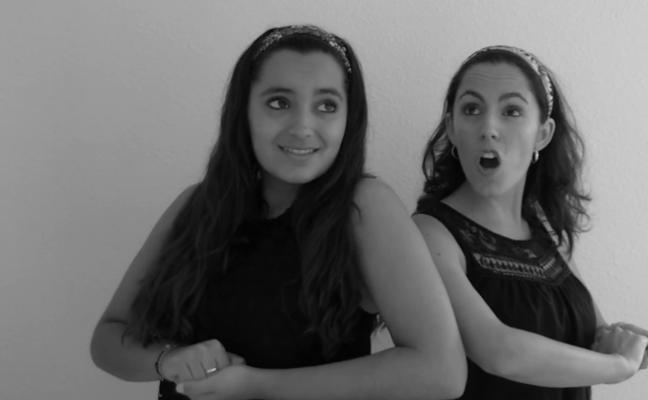 Las hermanas Patricia y Miriam Berbel ganan el Festival de la Canción de Extremadura