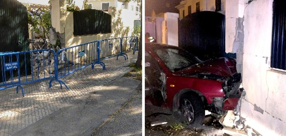 Dos de los ocupantes del coche accidentado en Las Vaguadas están graves