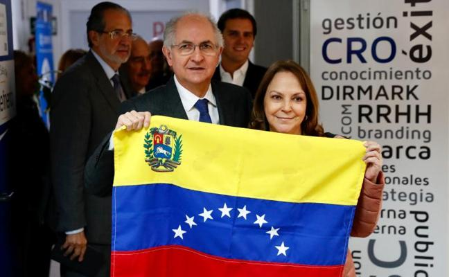 Ocho detenidos en Venezuela por la fuga del opositor Ledezma