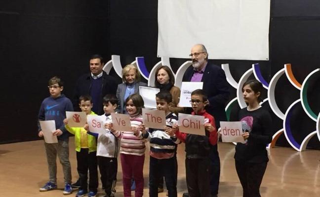El colegio de Guadalupe, centro embajador de 'Save de children'