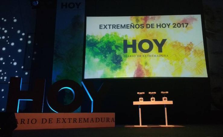 Gala de Extremeños de HOY 2017