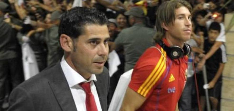 Hierro ya es el nuevo director deportivo de la FEF